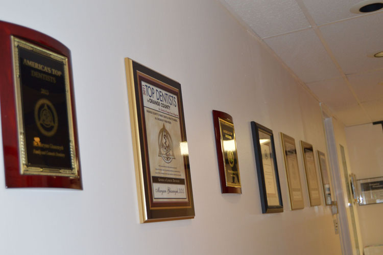 Wall of Plaques